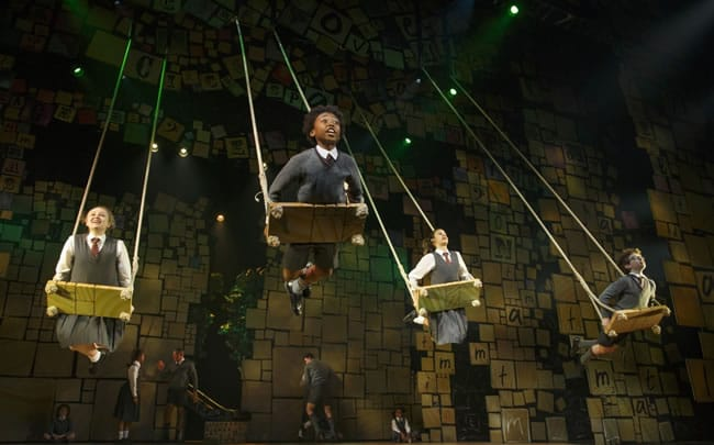 The company of Matilda the Musical First National Tour (Photo: Joan Marcus)
