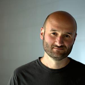 Misha Kachman, set designer for West Side Story at Signature Theatre