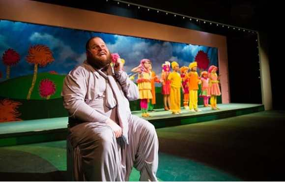 Matthew Thompson and the cast of Seussical the Musical at NextStop (Photo: Traci J. Brooks Studios)