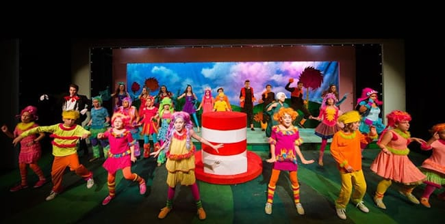 The cast of Seussical the Musical at NextStop Theatre Company (Photo: Traci J. Brooks Studios)
