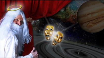 God: The One Man Show PR image ©2015 Richard E Potter