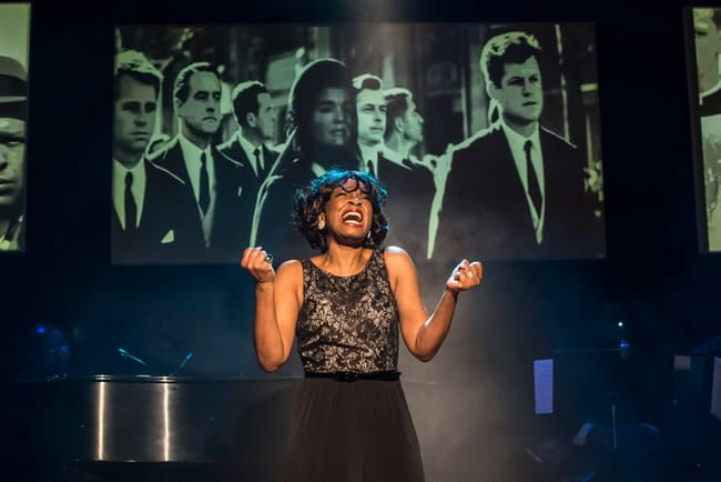 Lori Williams in Shake Loose at MetroStage (Photo: Chris Banks)