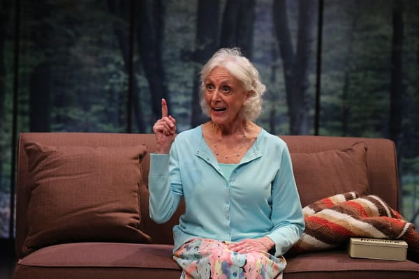 Kathleen Butler in Marjorie Prime at Olney Theatre Center (Photo: Nicholas Griner)