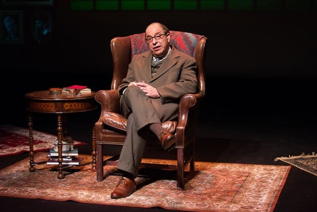 Max McLean as C. S. Lewis in C. S. Lewis Onstage: The Most Reluctant Convert (Photo: Jeremy Daniel)