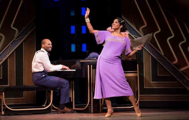 Brandon Victor Dixon and Audra McDonald in Shuffle Along on Broadway (Photo: Julieta Cervantes)