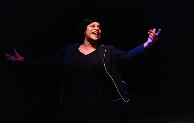 Iyona Blake as Caroline in Caroline, or Change from Creative Cauldron (Photo: Keith Waters, KXPhotography)