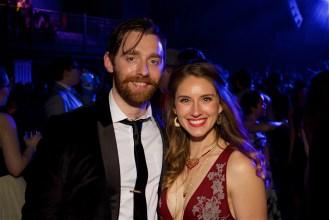 Matthew Torney (Studio Theatre) and Amber McGinnis