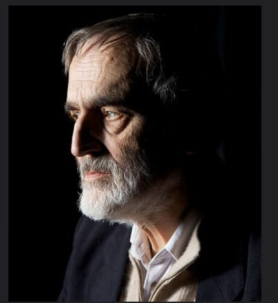 Helmut Lachenmann, composer of The Little Match Girl at Spoleto Festival 2016 (Photo by Astrid Karger, Saarbrücken