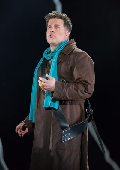 Daniel Brenna as Siegfried in Siegfried, one of Wagner's Ring cycle operas at Washington National Opera (Photo: Scott Suchman)