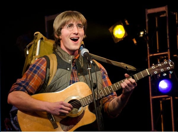 James Bock as John Denver in Almost Heaven: Songs of John Denver from Infinity Theatre  (Photo: Nathan Hawkin)