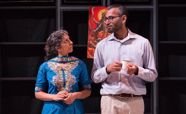 Vanita Kalra and Shawn Kumar Jain in Love and Minor Destruction at CulturalDC's Source Festival (Photo: Teresa Wood Photography)