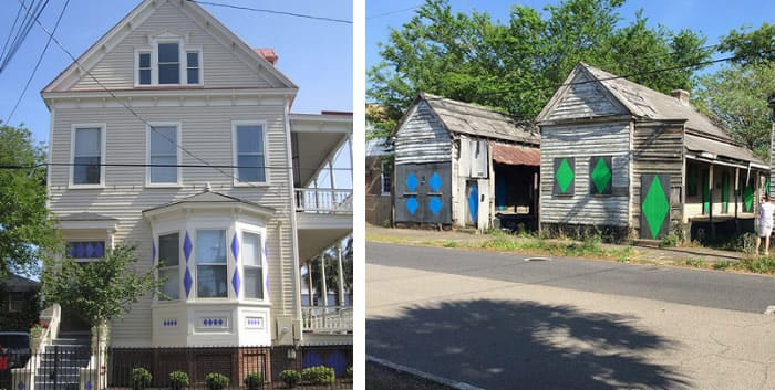 Porgy Houses, Charleston, SC.