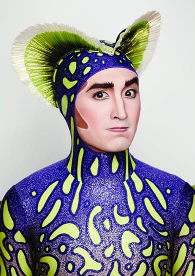 Ryan Murray in Cirques du Soleil's KURIOS: The Cabinet of Curiosity