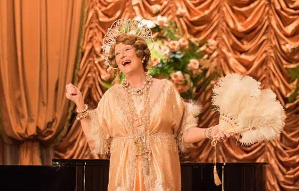 Meryl Street as Florence Foster Jenkins