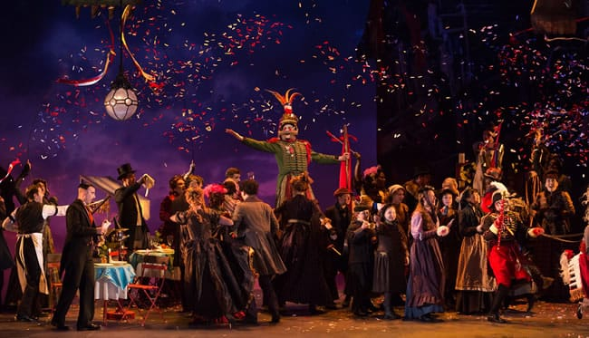 Glimmerglass Festival's production of Puccini's La Bohème. (Photo: Karli Cadel/The Glimmerglass Festival)