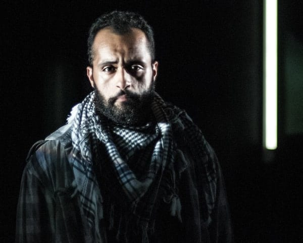 Ahmad Kamal in I Call My Brothers at Forum Theatre (Photo: Teresa Castracane Photography)