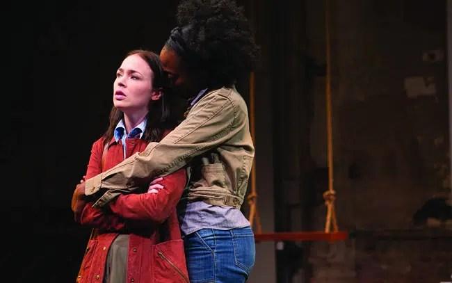 (l-r) Laura C. Harris and Joy Jones in Cloud 9 at Studio Theatre. (Photo: Teresa Wood)