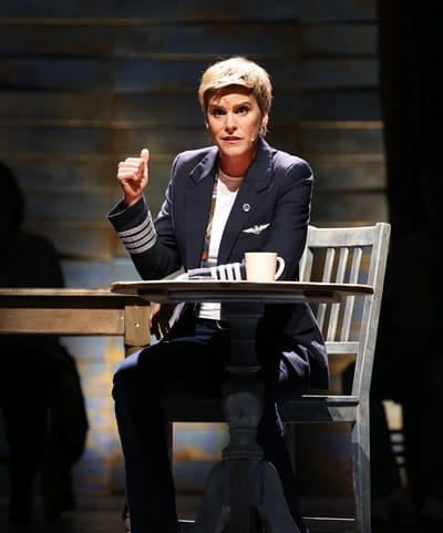 Jenn Colella as Beverly in Come From Away, directed by Christopher Ashley. (Photo: Carol Rosegg)