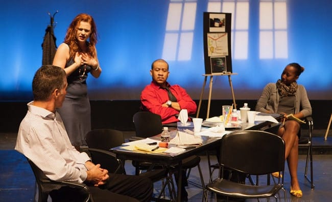 Members of the cast of Live Garra Theatre's A Matter of Perspective (Photo courtesy of Live Garra Theatre