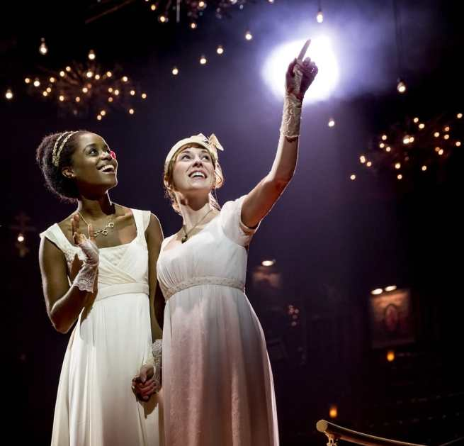 Denee Benton and Brittain Ashford in Natasha, Pierre and The Great Comet of 1812 (Photo: Chad Batka)