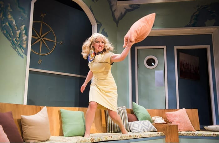 Boeing Boeing at NextStop, French farce about back when the skies were friendly (review)