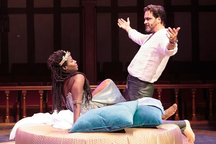 Antony and Cleopatra's romance is the central focus at Folger (review)