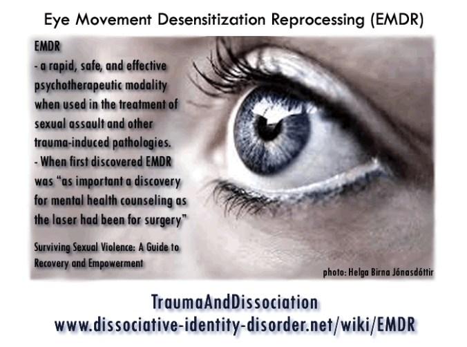 EMDR photo of eye, treatment for PTSD