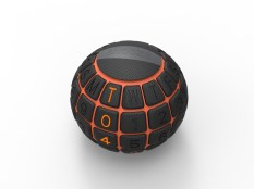 Ball alarm clock