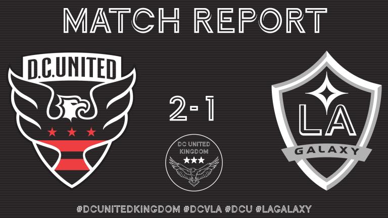 Match Report: DC 2-1 LA Galaxy