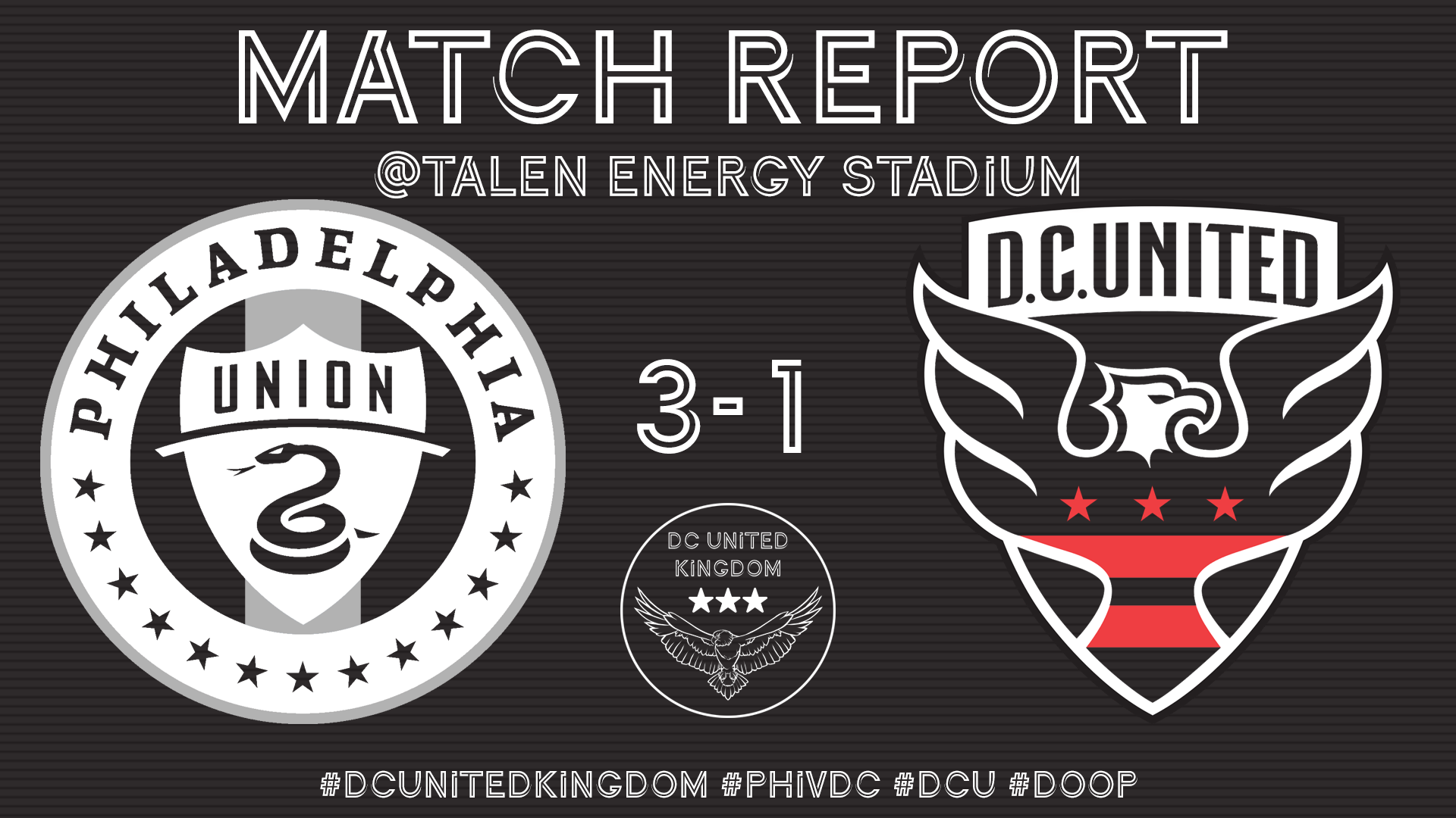 Match Report: PHI 3-1 DC