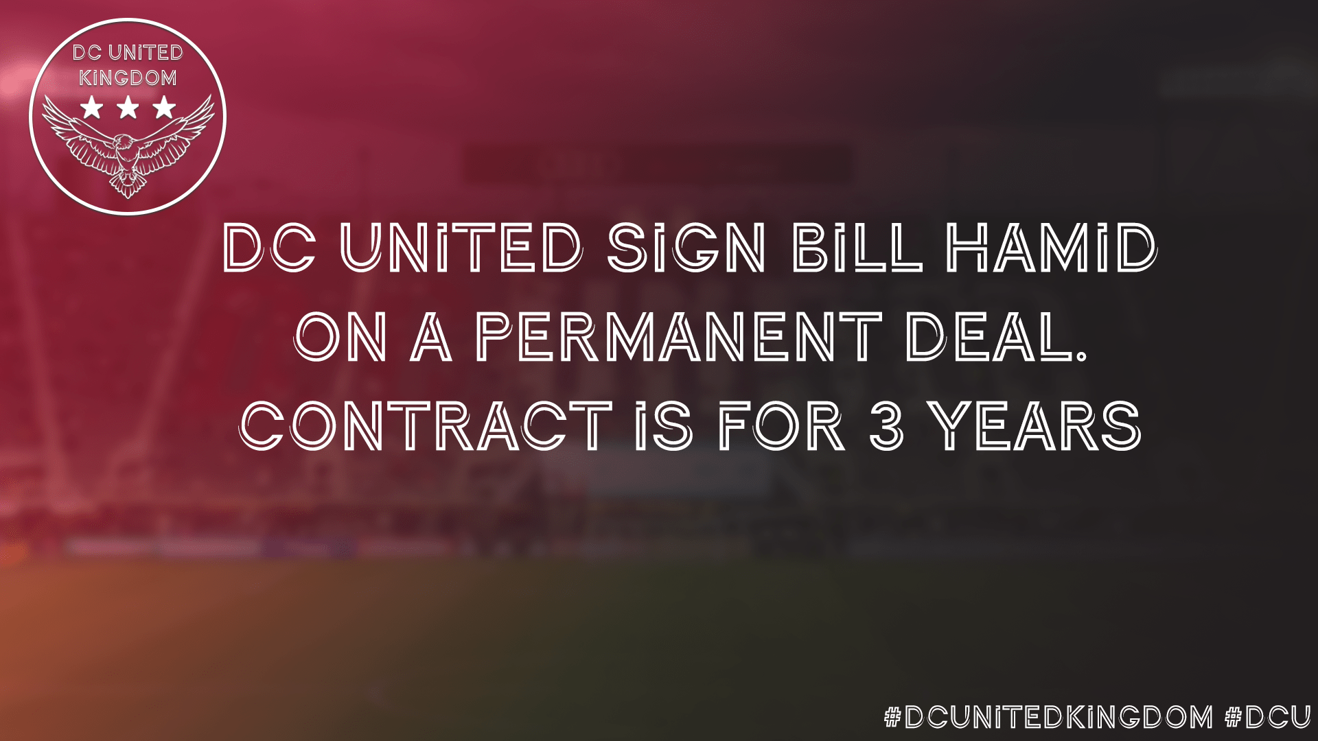 D.C. United acquire Bill Hamid on a permanent transfer from FC Midtjylland