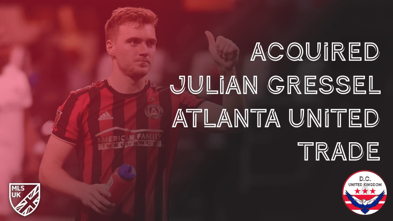 D.C. United acquires Julian Gressel from Atlanta United