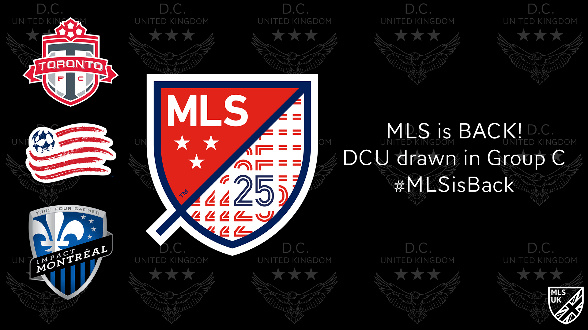 MLS is Back group draw