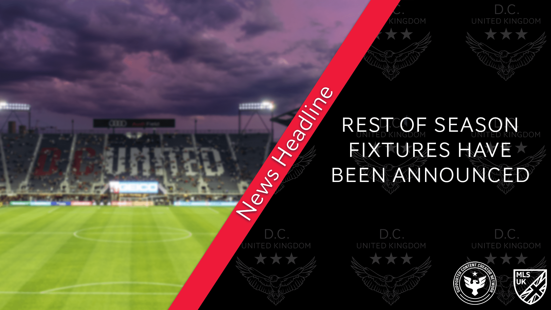 Read more about the article D.C. United and MLS Announce Remaining Regular Season Schedule