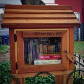 Little Free Library on East Capitol Street