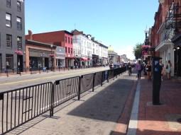 Expanded Sidewalk on M Street