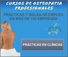 cursos de osteopatía profesionales
