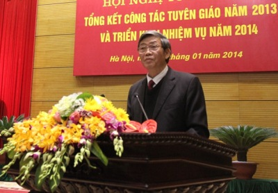 Trưởng ban TGTU Đinh Thế Huynh. Nguồn: tapchicongsan.org.vn