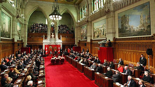 Ảnh Thượng viện Canada trong một phiên họp. Nguồn: CP