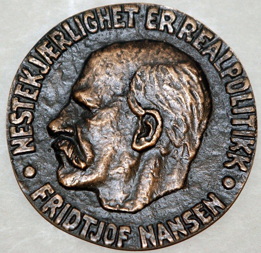 Huân chương Nansen. Nguồn: UNHCR.