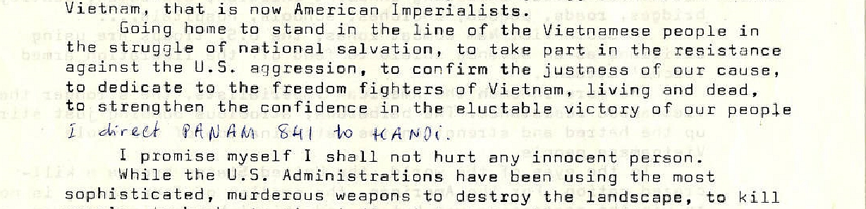 "Nguồn: ""Viet Thai Binh open letter regarding resistance to the Vietnam War, July 1, 1972"", University of Washington Libraries. Special Collections, PNW03322"