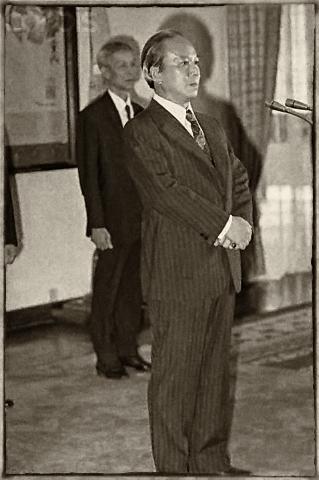 Tpprng thống Nguyễn Văn Thiệu, tháng 4, 1975. Nguồn: © Bettmann/CORBIS