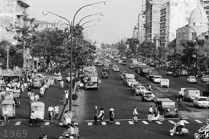 Sài Gòn, 1969. NGuồn: OntheNet