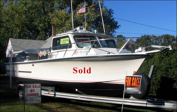 Boat For Sale C Hawk 25 Foot Sport Fishing Boat 250 Horsepower 2004 Yamaha 2 Stroke Outboard
