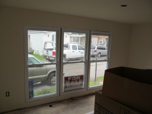 Mobile Home improvement front windows