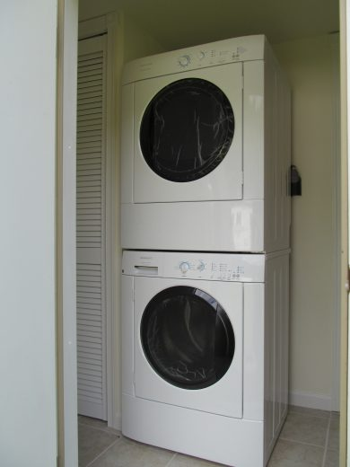 mobile home improvement laundry room