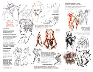 gesture drawing handout Awb