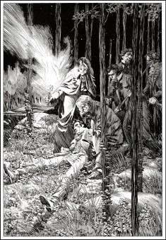 By Bernie Wrightson from Frankenstein (Marvel 1983)
