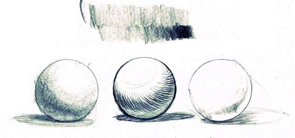 Three spheres lighting exercise,