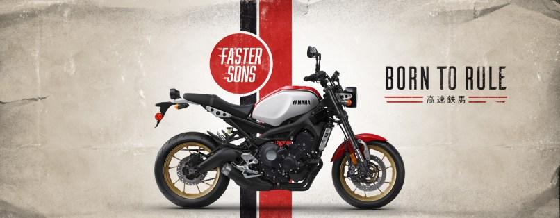 Yamaha Xsr900 Sport Heritage Motorcycle